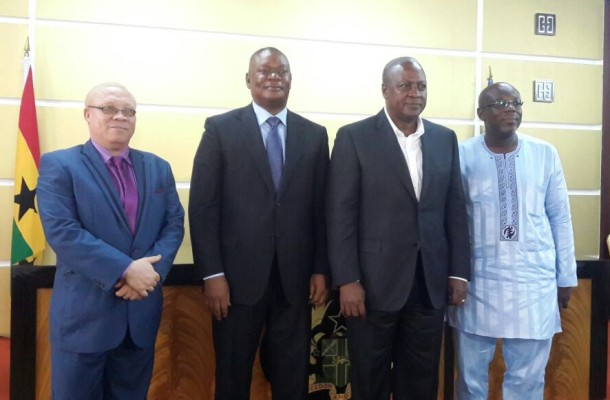 JUSTICE DZAMEFE COMMISSION OF ENQUIRY REPORT PRESENTED TO PRESIDENT  JOHN MAHAMA