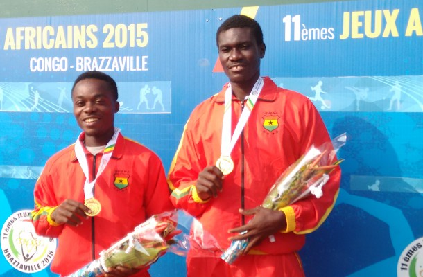 GHANA    WINS FIRST GOLD IN 2015 ALL AFRICA GAMES