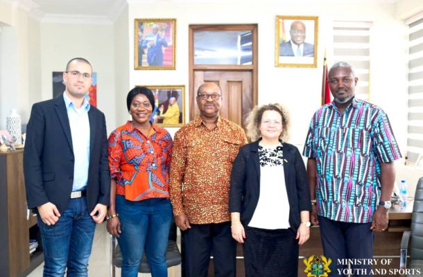 Ghana and Israel to Explore Areas in Youth and Sports Development