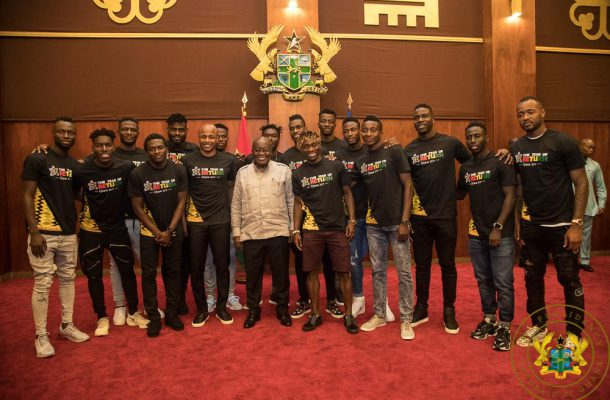 """Thirty Million Ghanaians Are Solidly Behind You"" – President Akufo-Addo To Black Stars"