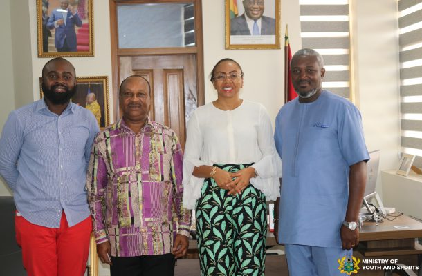 Ministry of Youth and Sports, Miss Ghana Foundation explores possible ways of collaboration