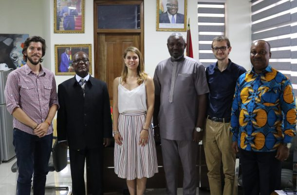 AFD Sport and Development Inspection Mission Pays Courtesy Call on Deputy Minister