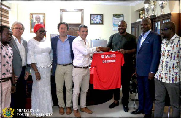 Benfica to establish academy in Ghana