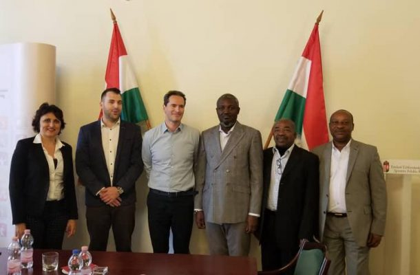 Deputy Youth and Sports Minister Pays Courtesy Call on Hungarian Deputy State Secretary