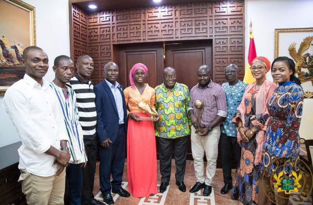 Abdulai Mukarama Receives Cash Token For Her FIFA U-17 World Cup Exploits