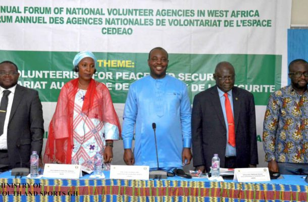 3rd Ecowas Annual Forum Of national Volunteers Agencies In West Africa Opened