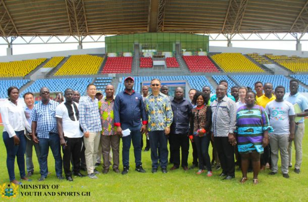 Renovation Works Begin At Cape Coast Sports Stadium